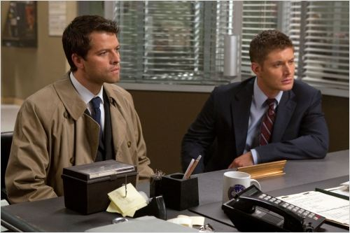 Supernatural : Photo Jensen Ackles, Misha Collins