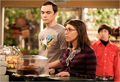 The Big Bang Theory : photo Jim Parsons, Mayim Bialik
