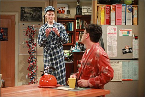 The Big Bang Theory : photo Jim Parsons, Johnny Galecki
