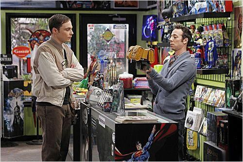 The Big Bang Theory : photo Jim Parsons, Kevin Sussman