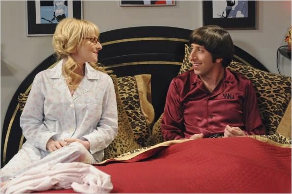 Photo Melissa Rauch, Simon Helberg