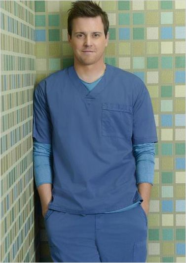 Scrubs : Photo Michael Mosley