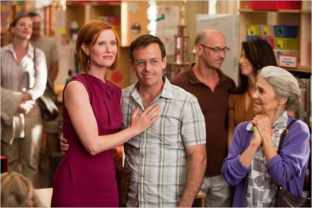 Sex and the City 2 : Photo Cynthia Nixon, David Eigenberg, Lynn Cohen, Michael Patrick King