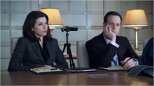 The Good Wife : photo Josh Charles, Julianna Margulies