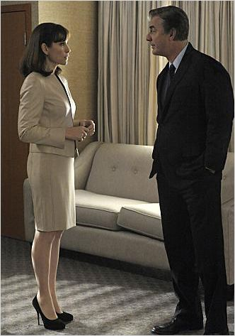 The Good Wife : photo Chris Noth, Julianna Margulies