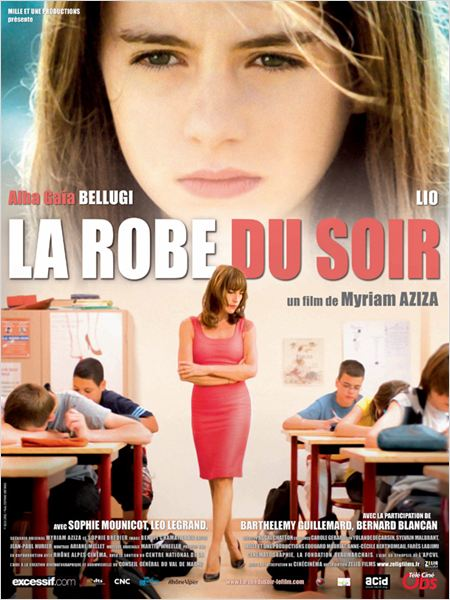 La Robe du soir : affiche Myriam Aziza