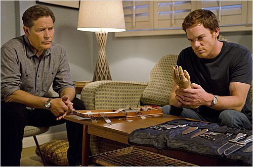 Dexter : photo James Remar, Michael C. Hall
