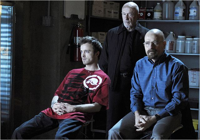 Breaking Bad : photo Aaron Paul, Bryan Cranston, Jonathan Banks