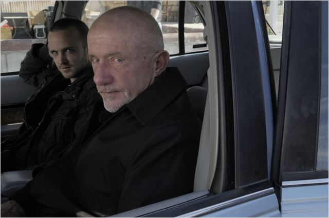 Breaking Bad : photo Aaron Paul, Jonathan Banks