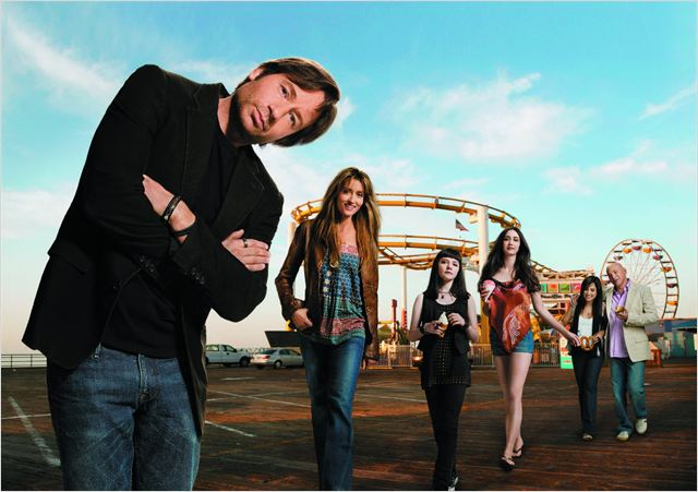 Californication : Photo David Duchovny, Evan Handler, Madeleine Martin, Madeline Zima, Natascha McElhone