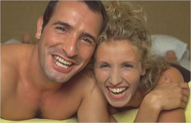 un gars une fille photo de alexandra lamy et jean dujardin 2 sur 14 allocine. Black Bedroom Furniture Sets. Home Design Ideas