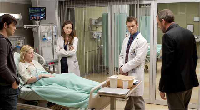 Dr House : photo Hugh Laurie, Jesse Spencer, Laura Prepon, Olivia Wilde