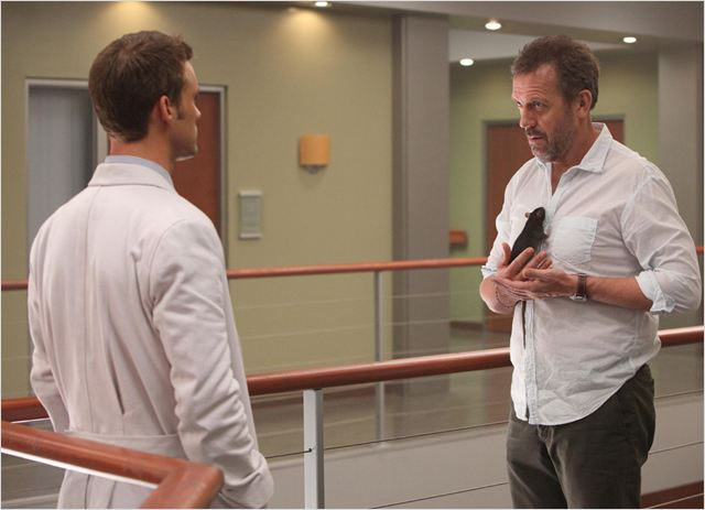 Dr House : photo Hugh Laurie, Jesse Spencer