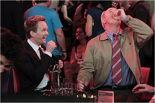 How I Met Your Mother : photo John Lithgow, Neil Patrick Harris