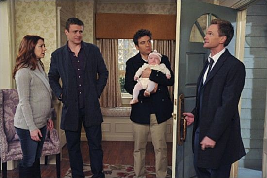 How I Met Your Mother : photo Alyson Hannigan, Jason Segel, Josh Radnor, Neil Patrick Harris