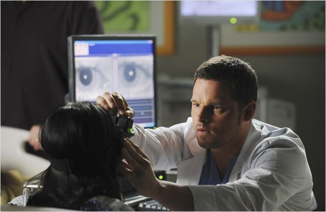 Grey's Anatomy : photo Demi Lovato, Justin Chambers