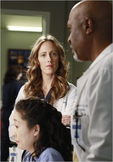 Grey's Anatomy : photo James Pickens Jr., Kim Raver, Sandra Oh