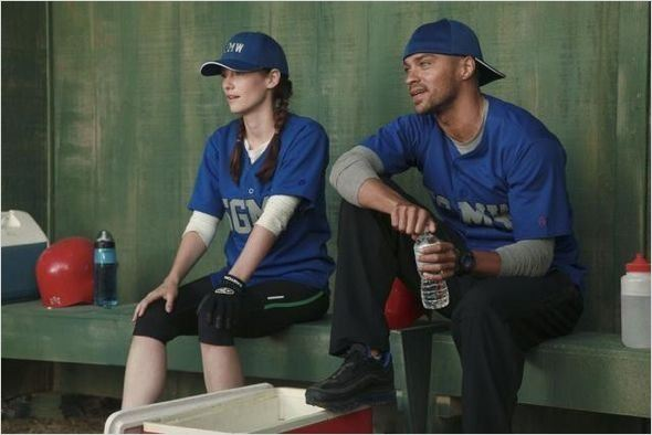 Photo Chyler Leigh, Jesse Williams