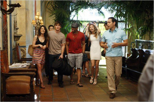 90210 Beverly Hills Nouvelle Génération : photo Annalynne McCord, Matt Lanter, Shenae Grimes, Tristan Wilds