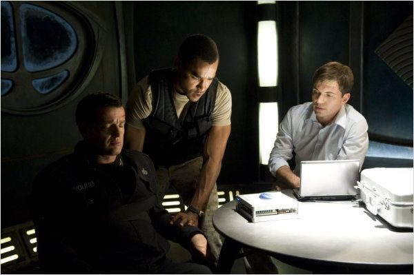 Stargate Universe : photo Jamil Walker Smith, Justin Louis