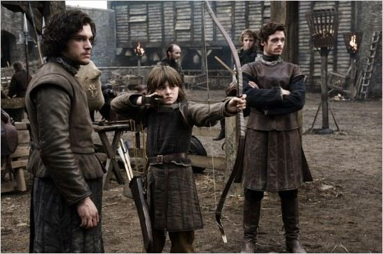 Game of Thrones : Photo Isaac Hempstead-Wright, Kit Harington, Richard Madden