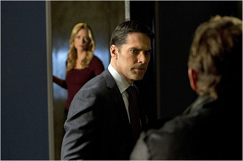 Esprits criminels : photo A. J. Cook, Thomas Gibson