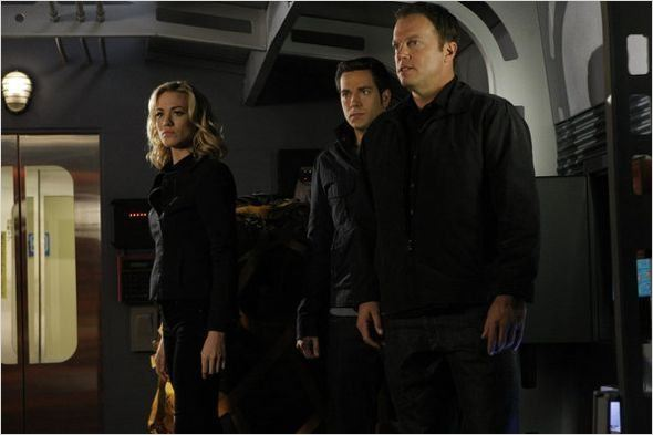 Chuck : photo Adam Baldwin, Yvonne Strahovski, Zachary Levi