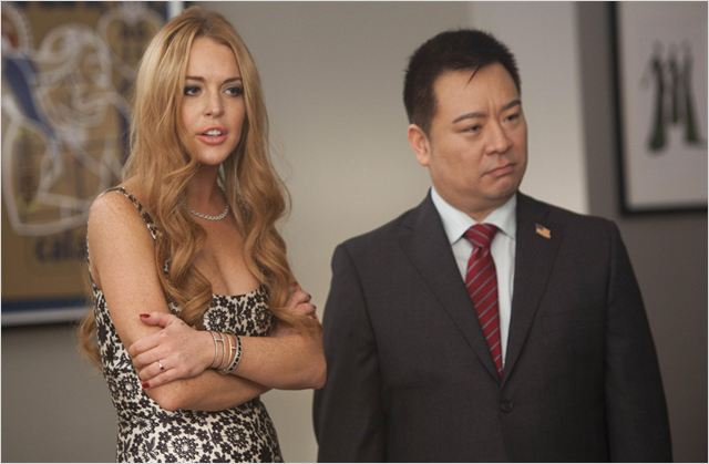 Glee : photo Lindsay Lohan, Rex Lee
