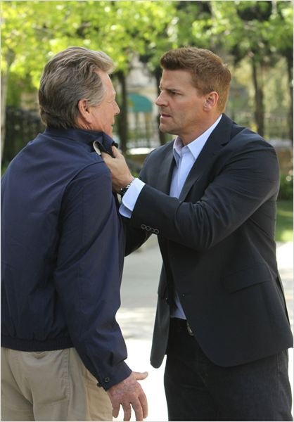 Bones : photo David Boreanaz, Ryan O'Neal