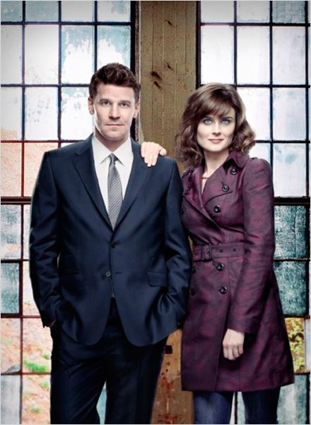 Photo David Boreanaz, Emily Deschanel