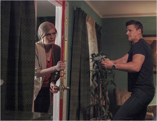 Bones : photo David Boreanaz, Emily Deschanel