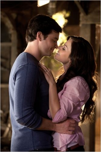 Smallville : photo Erica Durance, Tom Welling