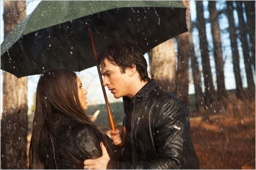 Vampire Diaries : Photo Ian Somerhalder, Nina Dobrev