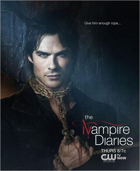 Affiche : The Vampire Diaries - Saison 4