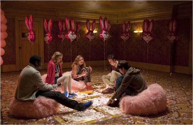 Chatroom : Photo Aaron Taylor-Johnson, Daniel Kaluuya, Hannah Murray, Hideo Nakata, Imogen Poots