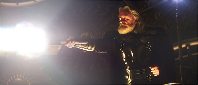 Thor : photo Anthony Hopkins, Kenneth Branagh
