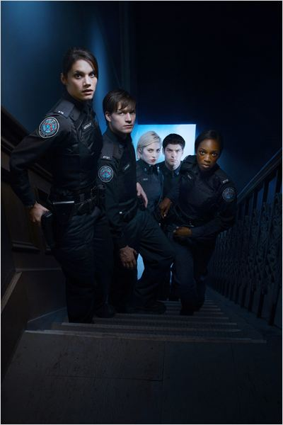 Rookie Blue : Photo Charlotte Sullivan, Enuka Okuma, Gregory Smith, Missy Peregrym, Travis Milne