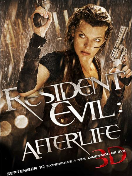 Resident Evil : Afterlife 3D : affiche