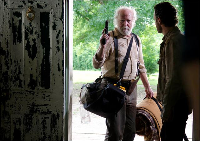 Photo Andrew Lincoln, Scott Wilson