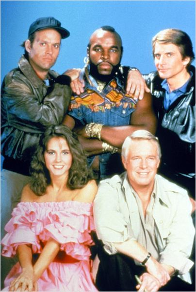 L'Agence tous risques : photo Dirk Benedict, Dwight Schultz, George Peppard, Melinda Culea, Mr. T