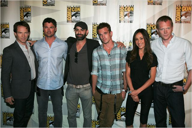 Priest : Photo Cam Gigandet, Karl Urban, Maggie Q, Paul Bettany, Scott Charles Stewart