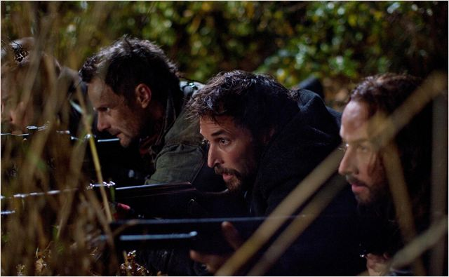 Falling Skies : photo Colin Cunningham, Noah Wyle