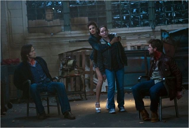 Photo Ian Tracey, Jared Padalecki, Madison McLaughlin, Meghan Ory