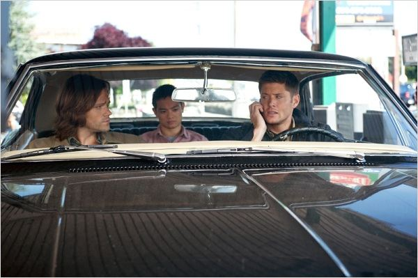 Photo Jared Padalecki, Jensen Ackles, Osric Chau
