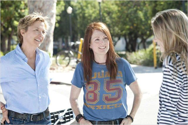 Tout va bien, The Kids Are All Right : Photo Annette Bening, Julianne Moore, Lisa Cholodenko, Mia Wasikowska&#9;