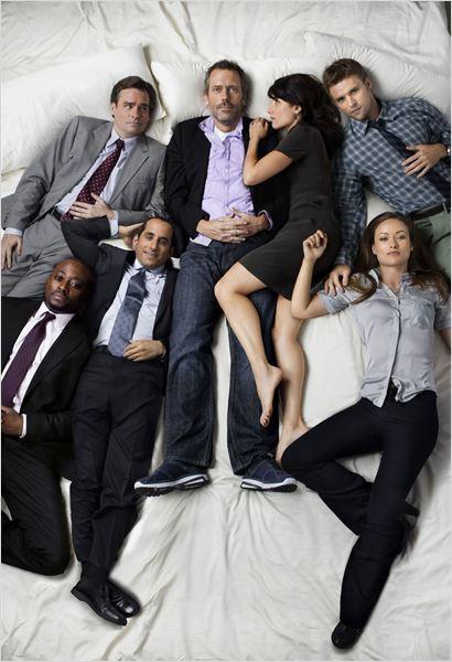 Dr House : Photo Hugh Laurie, Jesse Spencer, Lisa Edelstein, Olivia Wilde, Omar Epps