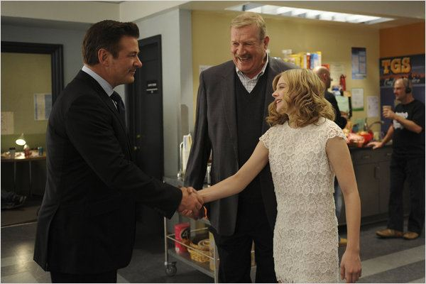 30 Rock : photo Alec Baldwin, Chloë Grace Moretz, Ken Howard