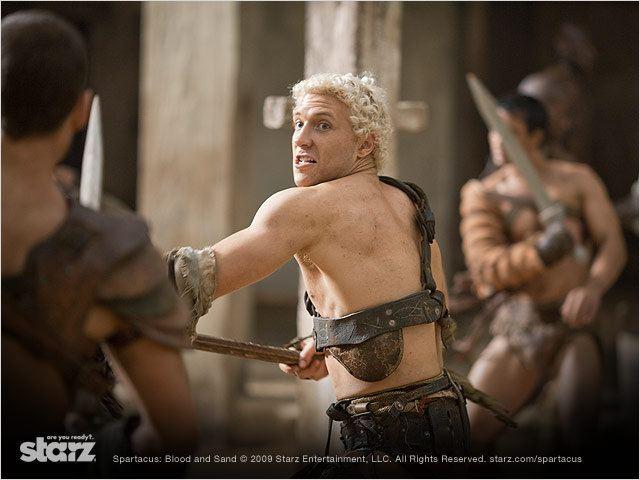 Spartacus : Photo Jai Courtney