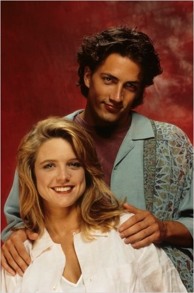 Image: Courtney Thorne-Smith with Andrew Shue