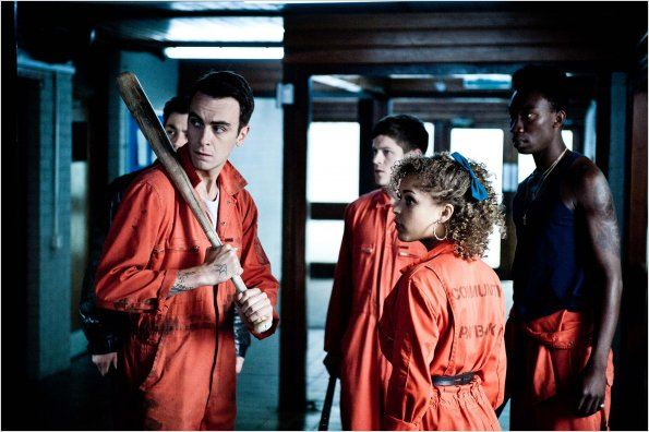 Photo Antonia Thomas, Iwan Rheon, Joseph Gilgun, Nathan Stewart-Jarrett